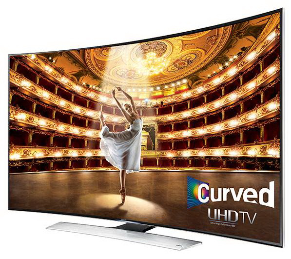Samsung curved 78 inch screen