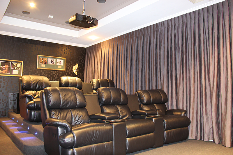 we can design a custom home theatre system